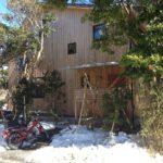 雪のシェアハウス